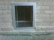 Through Brick Exterior Wall