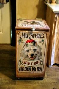 Custom Dog Food Bin