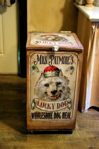 Custom Dog Food Bin